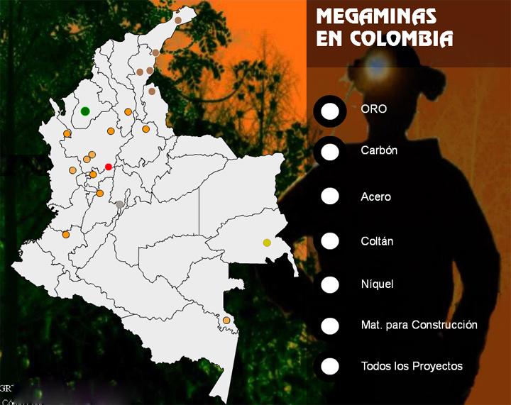 mappa interattiva miniere