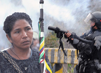 immagini della minga indigena contadina